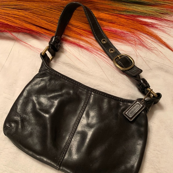 Coach Handbags - Black Leather Coach Purse
